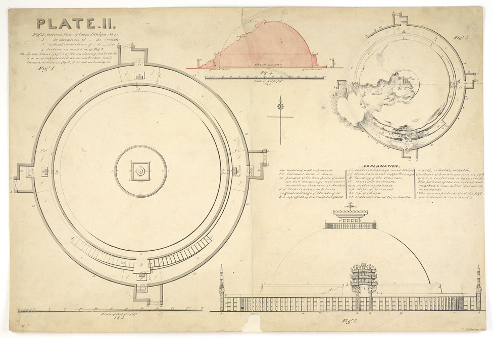 Sanchi Stupa Plan Elevation : The gallery for gt sanchi stupa plan elevation
